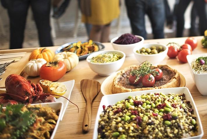 Abwechslungsreiches Catering mit Buffet für Events im Raum Kassel gibt es bei Goya