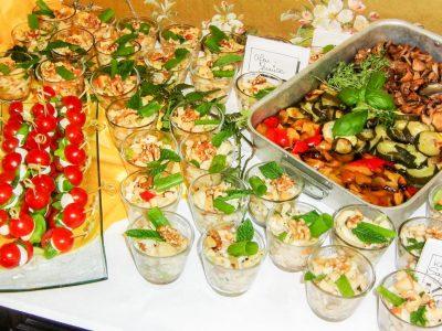 Günstiges Catering mit abwechslungsreichem Buffet für Events im Raum Kassel gibt es bei Goya