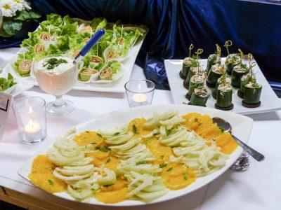 Catering für Familienfeiern und Events mit Buffet im Raum Kassel gibt es bei Goya