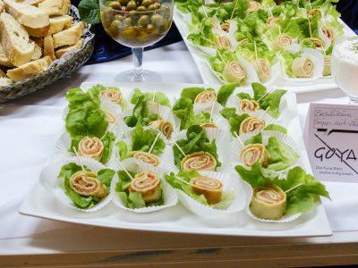 Catering für Firmenfeiern und Events mit abwechslungsreichem Buffet im Raum Kassel gibt es bei Goya