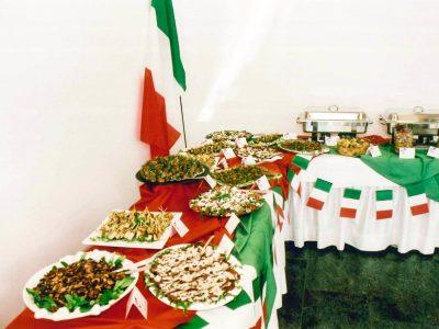 Günstiges Event Catering mit Buffet für Firmenfeiern und Events im Raum Kassel gibt es bei Goya