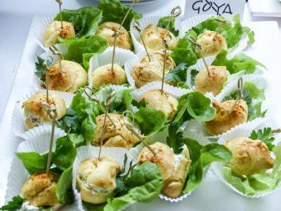 Catering mit schmackhaftem Fingerfood für Events im Raum Kassel gibt es bei Goya