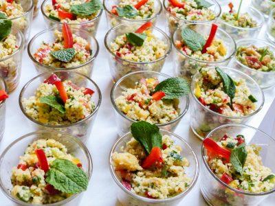 Catering mit abwechslungsreichem Fingerfood und Salaten für Events im Raum Kassel gibt es bei Goya