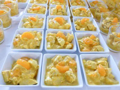 Catering mit abwechslungsreichem Fingerfood und Salaten für Firmenfeiern im Raum Kassel gibt es bei Goya
